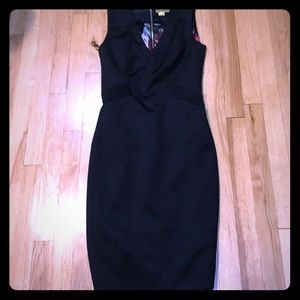Ted Baker black silky dress